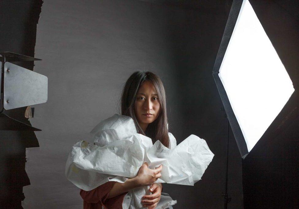 Crédits : modèle, Xiaohui Hu / photo, Aurélie Kissian